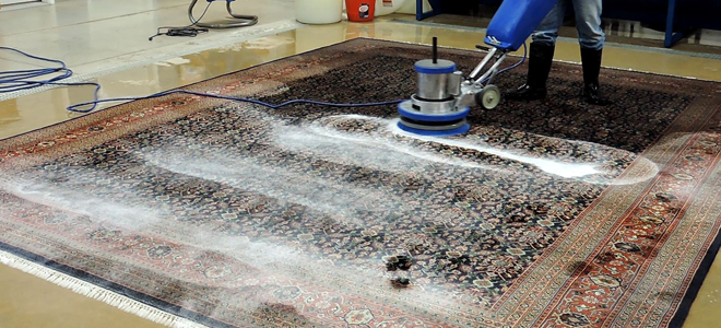 how to clean a wool area rug